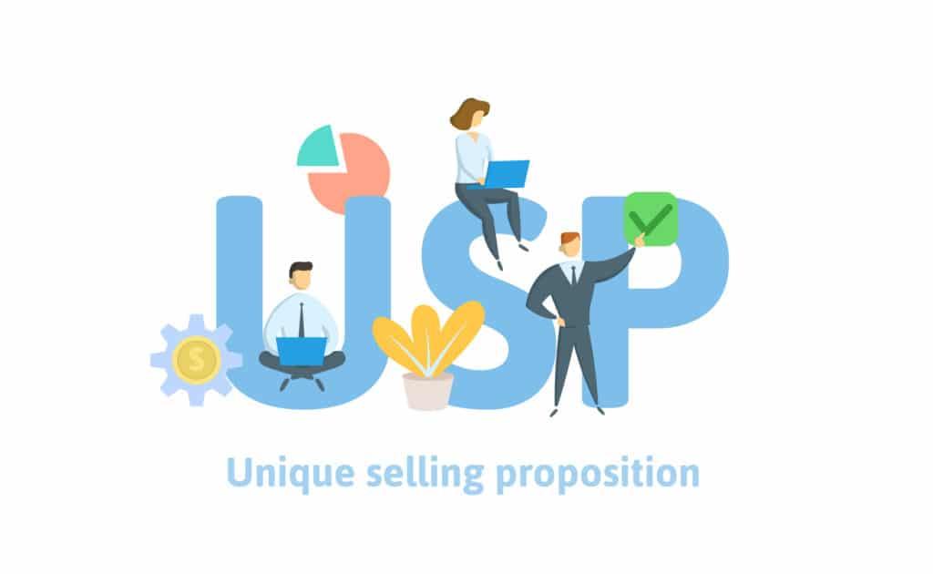 USP, unique selling proposition, Alleinstellungsmerkmal, Unterscheidungsmerkmal